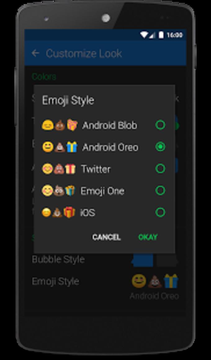 Textra Emoji - Android Oreo Style