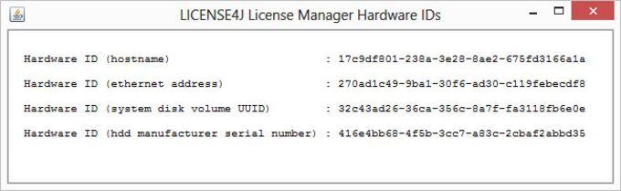 License4J License Manager
