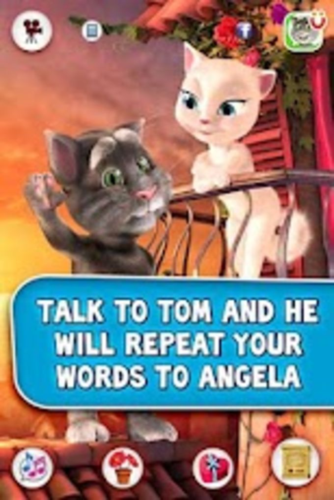 Tom loves Angela