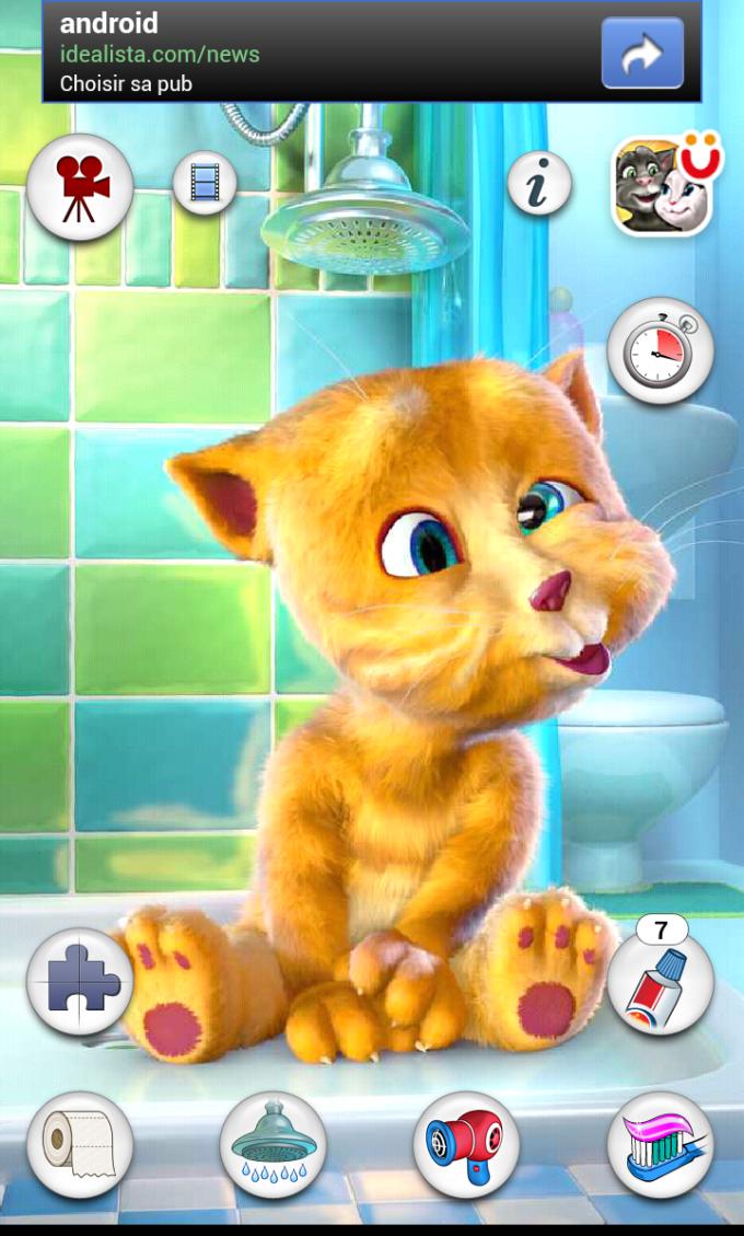 Ginger le chat qui parle