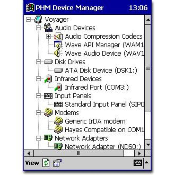 PHM Device Manager