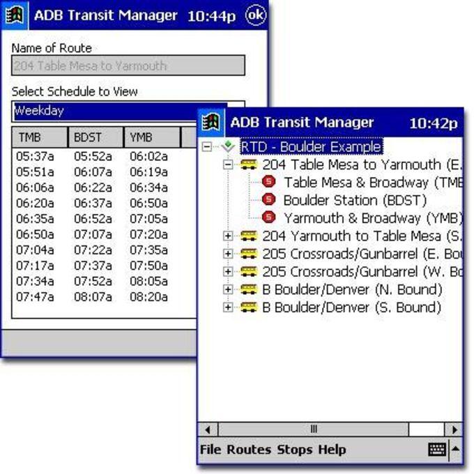 ADB Transit Manager