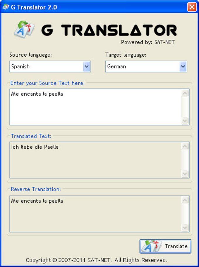 G Translator