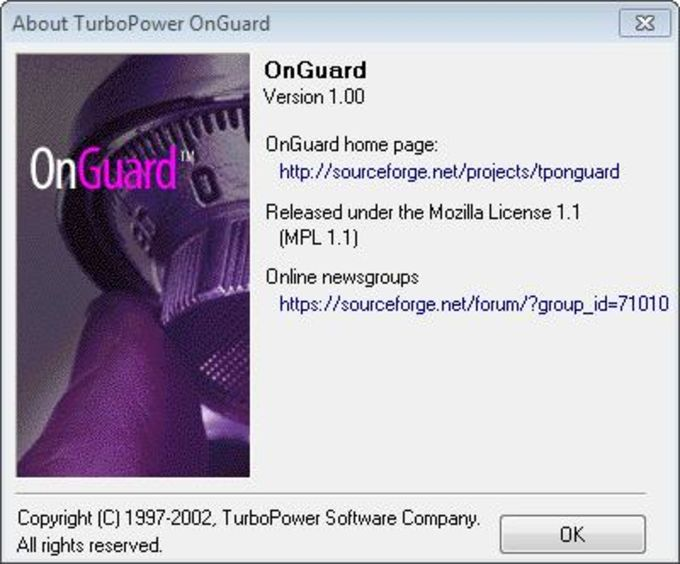 TurboPower OnGuard