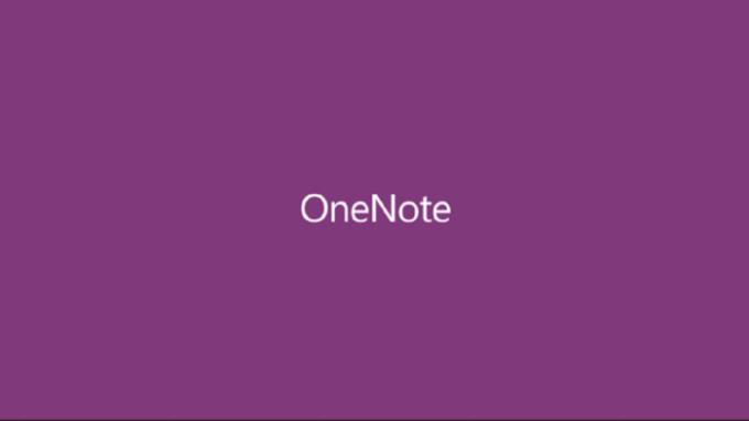 Microsoft OneNote pour iPad