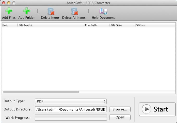 EPUB Converter Mac