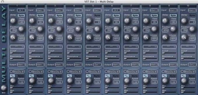 Multi Delay (plug-in VST)