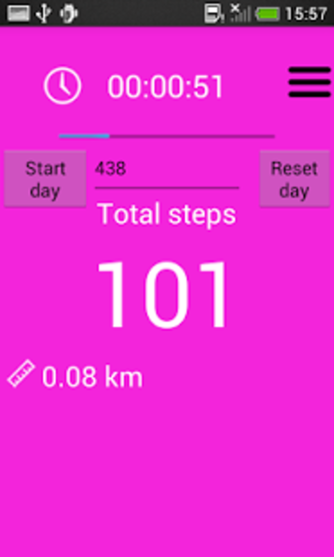 Pedometer and step counter