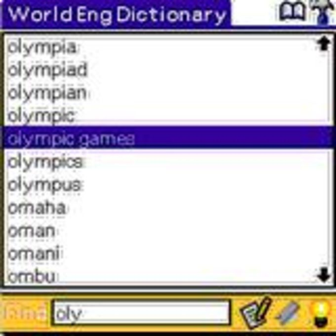 World English Dictionary Classic Edition
