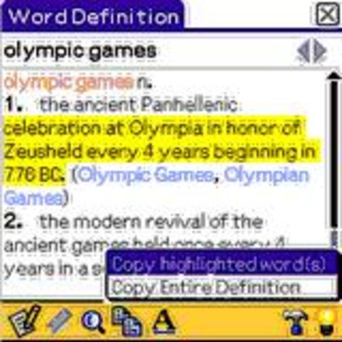 World English Dictionary Lite