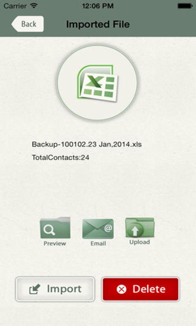 My Contact Backup Pro