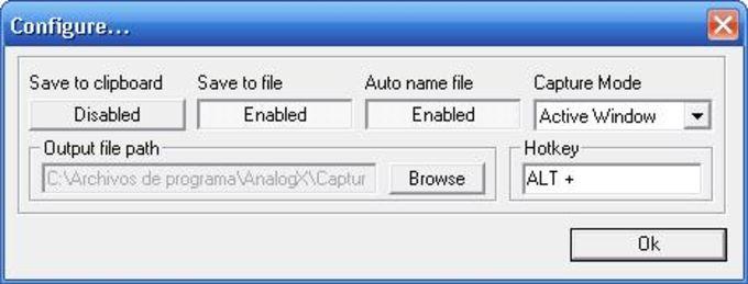 AnalogX Capture