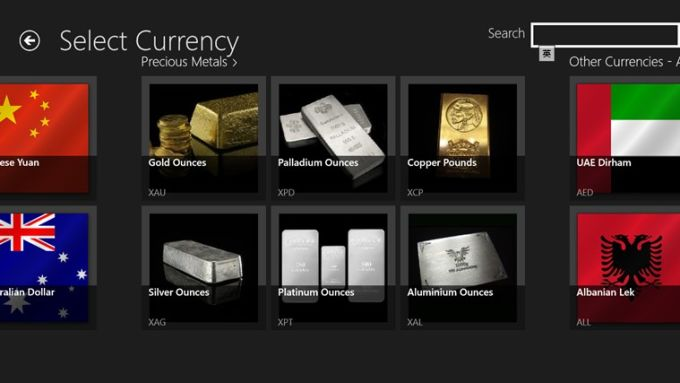 Handy Currency Converter for Windows 10