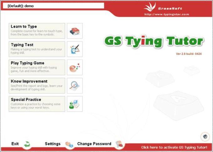 GS Typing Tutor
