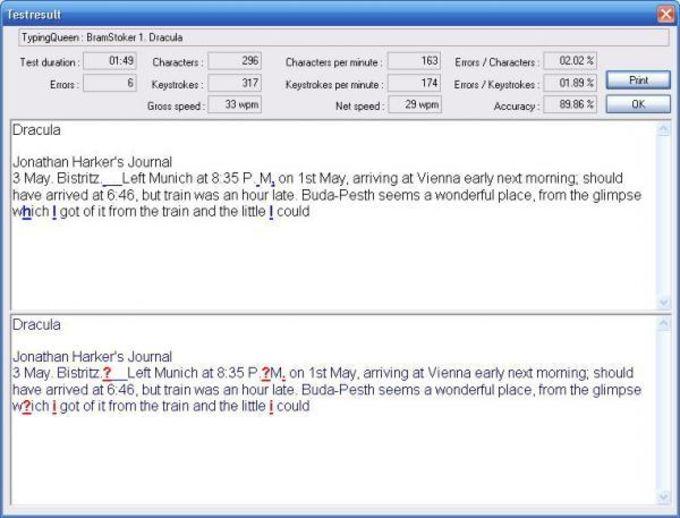Typing Test TQ - Download