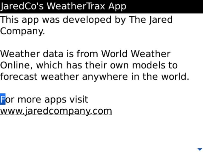 WeatherTrax