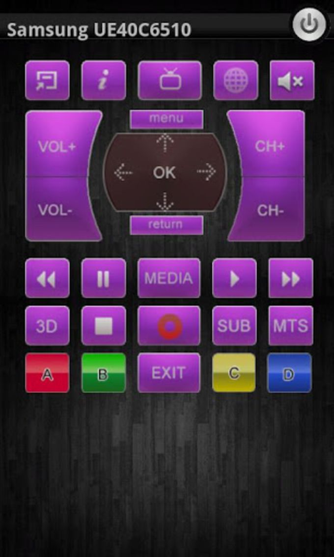 Smart TV Remote Control + DLNA