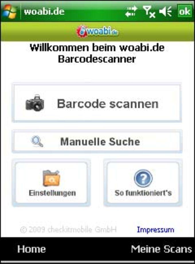 woabi barcode scanner f r pocket pc download. Black Bedroom Furniture Sets. Home Design Ideas