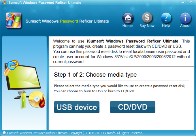 iSumsoft Windows Password Refixer