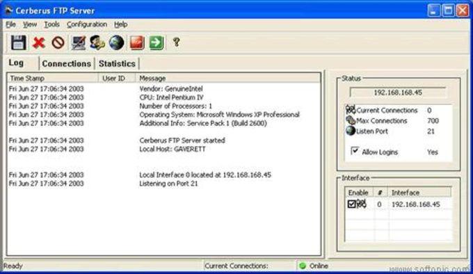 Cerberus FTP Server