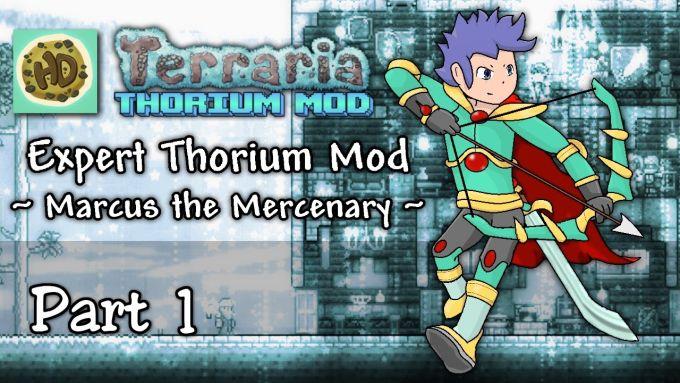 Thorium mod for Terraria