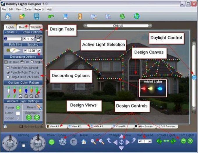 Holiday Lights Designer