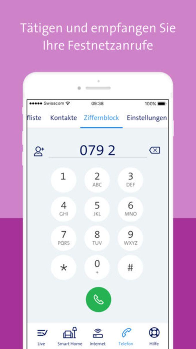 Swisscom Home App