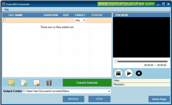 Free MKV Converter