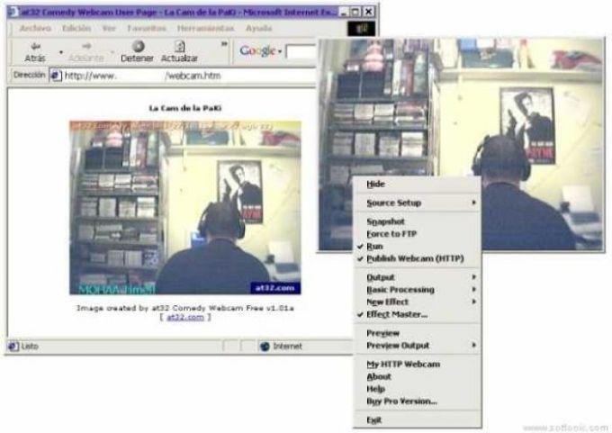 at32 Comedy Webcam