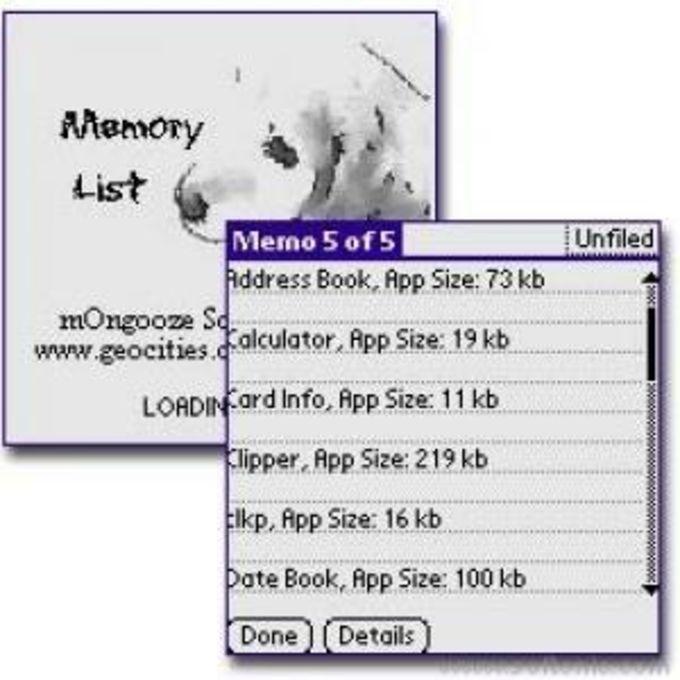 Memory List