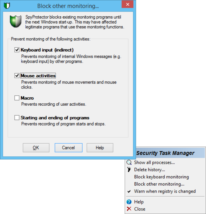 Security Task Manager