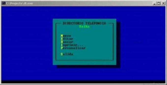 DT - Directorio Telefonico