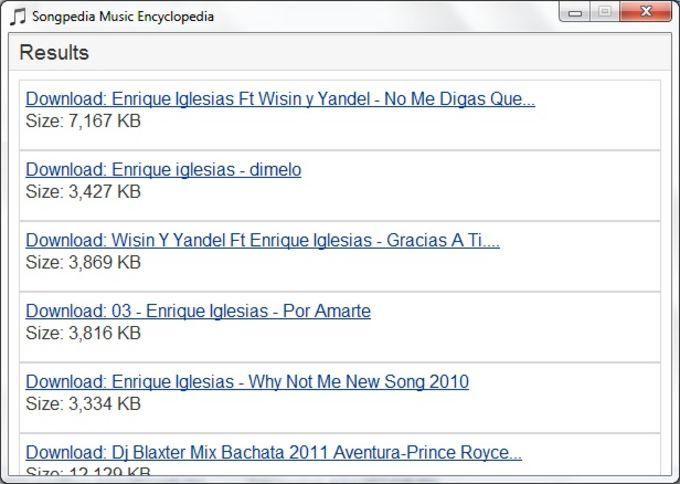Songpedia Music Encyclopedia