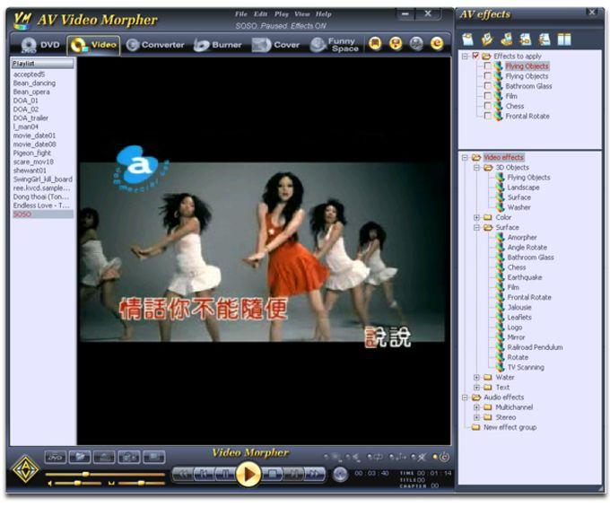 AV Video Morpher 3.0