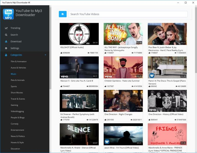 Youtube Downloader and Converter Video to Mp3