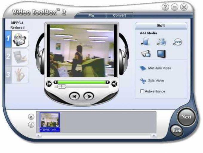 Ulead Video ToolBox