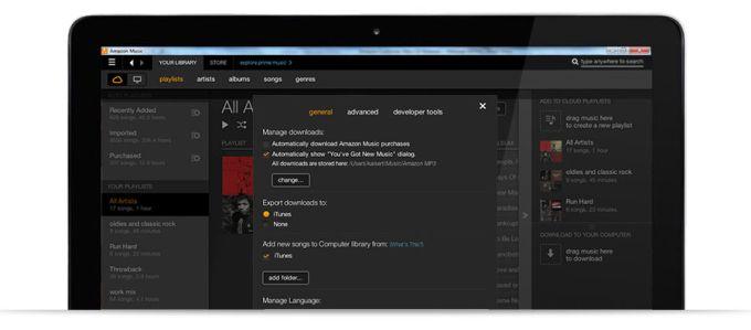 Amazon Music pour PC