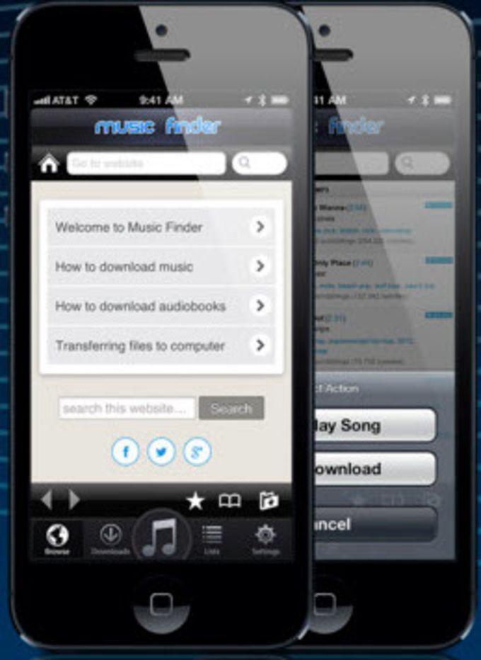 music finder per iphone download. Black Bedroom Furniture Sets. Home Design Ideas
