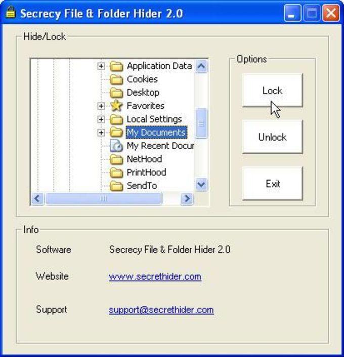 Secrecy File & Folder Hider