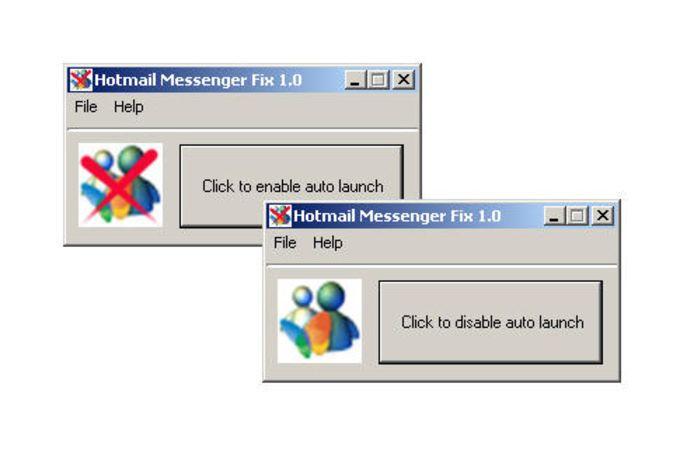 Hotmail Messenger Fix