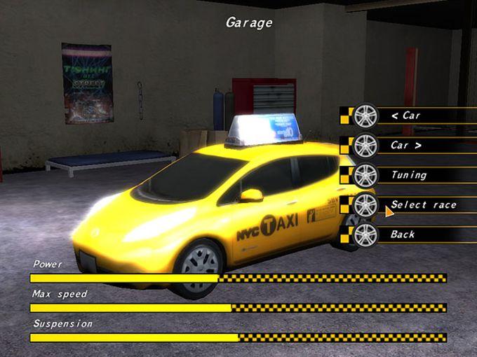 Crazy Taxi Racers