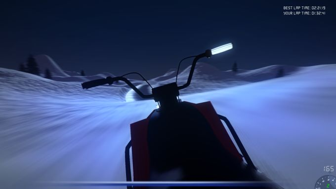 Snowmobile Simulator