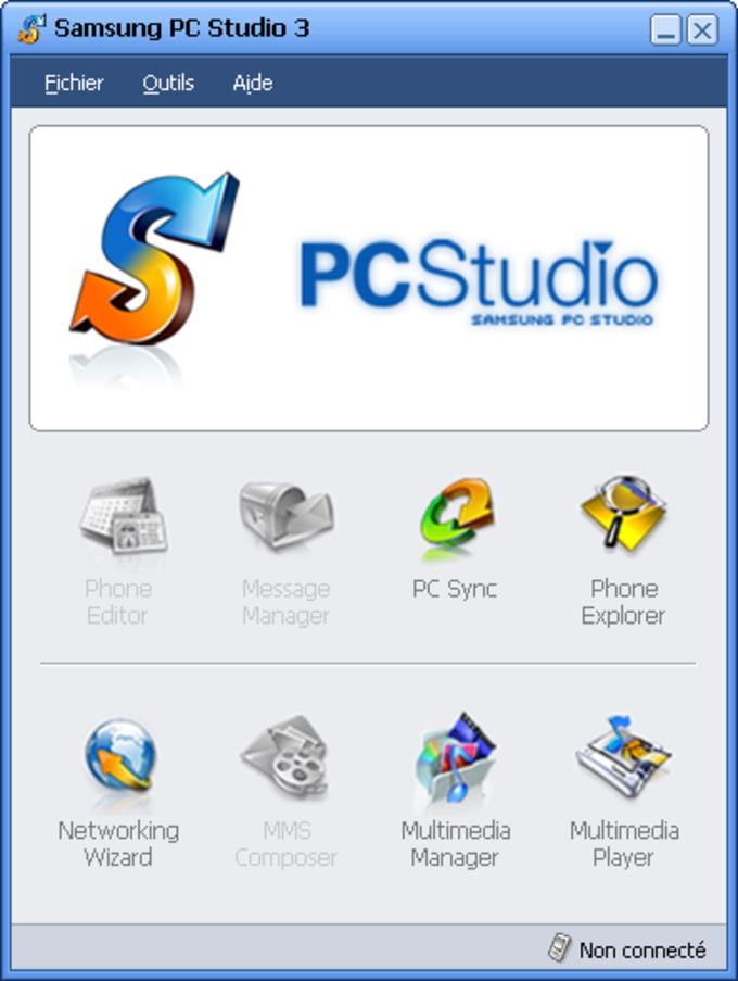 Îcones des outils de PCStudio