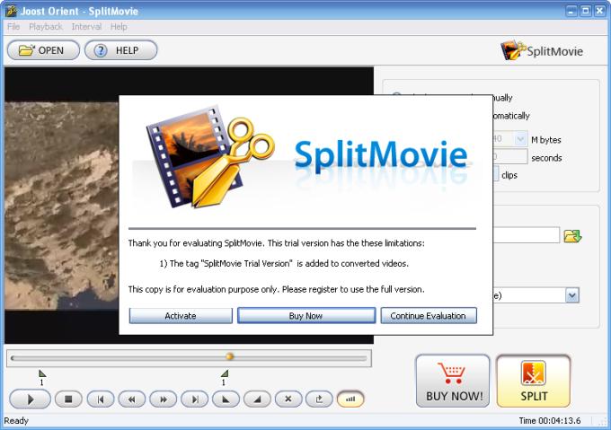 Movavi SplitMovie