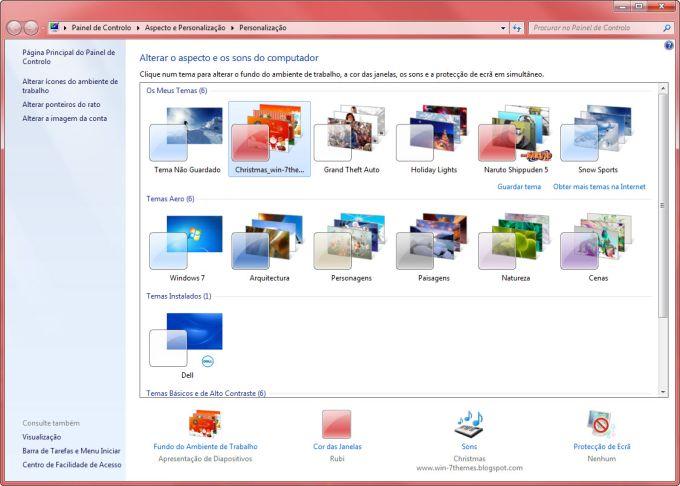 Tema Christmas Windows 7