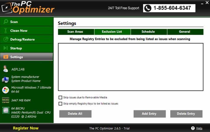 The PC Optimizer