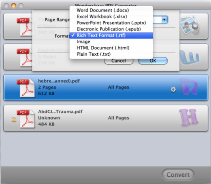 Wondershare PDF Converter for Mac