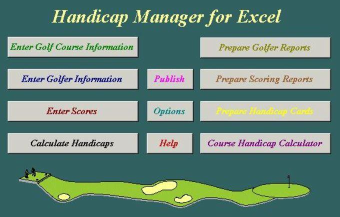 Handicap Manager for Excel