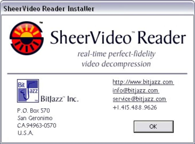 SheerVideo Reader