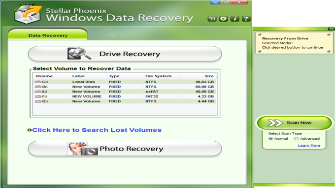 Stellar Phoenix Windows Data Recovery-Free edition